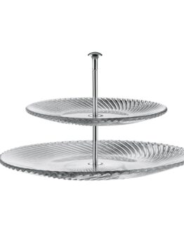 Samba Two tier tray large 32cm +23 cm