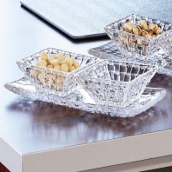 Bossa Nova Rec. Small Plate 28x14cm, 2 Bowl – 3 Pcs gift set