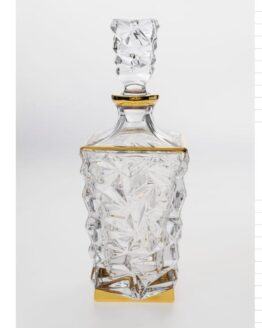 Bohemia Crystal Gold Decanter