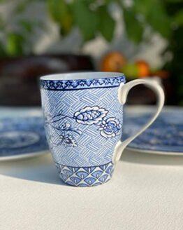 Blue DINASTY Mug Set of 6 PCS