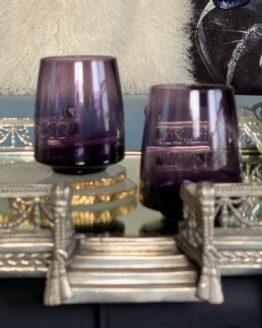 Purple Color Glass 300ml