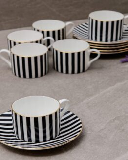 Fiorivita Cup & Saucers set of 6