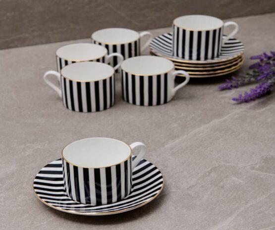 Fiorivita Cup & Saucers set of 6