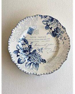 Bijou Rose Side Plates set of 6