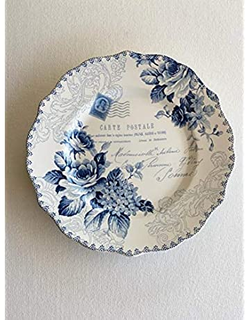 Bijou Rose Side Plates set of 6