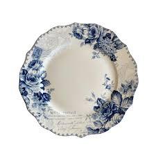 Bijou Rose Dinner Plates set of 6